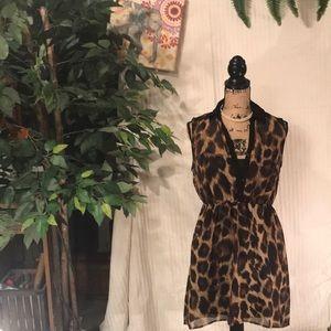 No boundaries collar button down sleeves dress